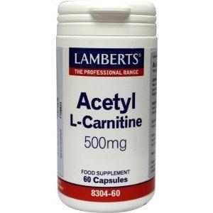 Lamberts Acetyl L-Carnitine 60 capsules