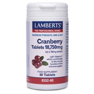 Lamberts Cranberry 18.750 mg 60 tabletten