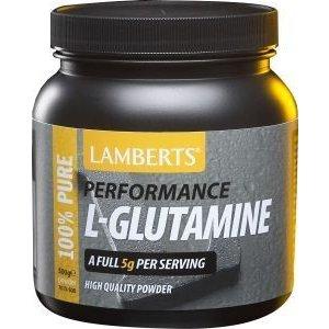 Lamberts Performance L-Glutamine Poeder 500 gram