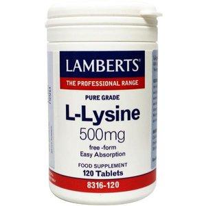 Lamberts L-Lysine 500 mg 120 tabletten