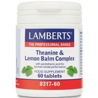 Lamberts Theanine & Lemon Balm Complex 60 tab