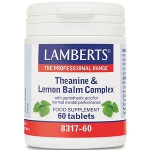 Lamberts Theanine & Lemon Balm Complex 60 tabletten