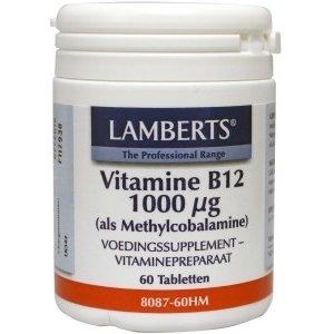 Lamberts Vitamine B12 als Methylcobalamine 1000 mcg 60 tabletten