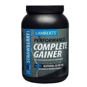 Lamberts Performance Complete Gainer Strawberry (Aardbei) 1816 gram