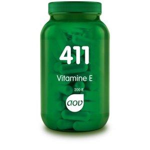 AOV 411 Vitamine E 200 IE 100 capsules