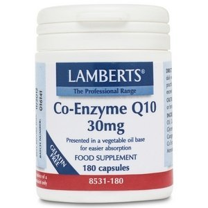 Lamberts Co-enzym Q10 30 mg 180 capsules