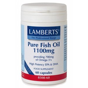 Lamberts Pure Visolie 1100 mg 60 capsules