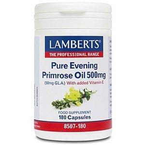 Lamberts Teunisbloem (Evening Primrose) 500 mg 180 capsules