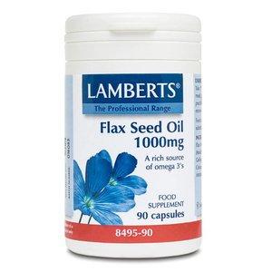 Lamberts Flax Seed Oil (Lijnzaad Olie) 1000 mg 90 capsules