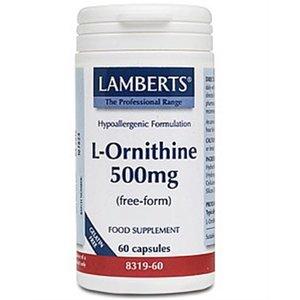 Lamberts L-Ornithine 500 mg 60 capsules