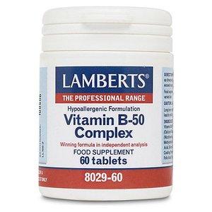Lamberts Vitamine B50 Complex 60 tabletten