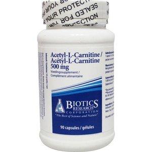 Biotics Acetyl-L-Carnitine 500 mg 90 capsules