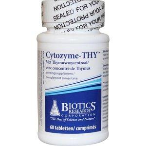Biotics Cytozyme-THY 60 tabletten
