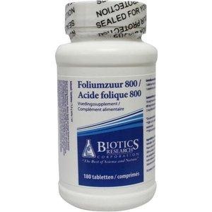 Biotics Foliumzuur 800 180 tabletten