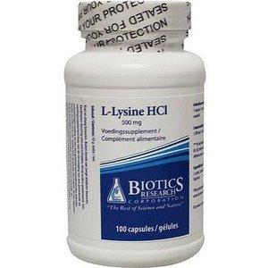 Biotics L-Lysine 100 capsules