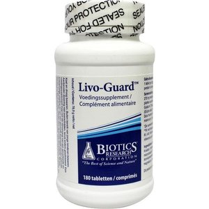 Biotics Livo Guard 180 tabletten
