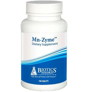 Biotics Mn-Zyme 10 mg 100 tabletten