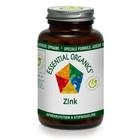 Essential Organics Zink 25 mg 90 tab