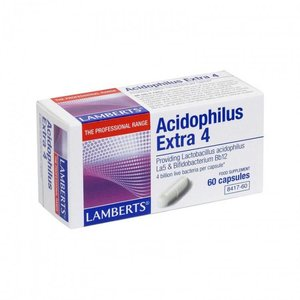 Lamberts Acidophilus Extra 4 60 capsules