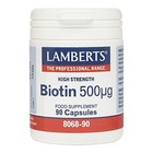 Lamberts Biotin 500 mcg 90 cap