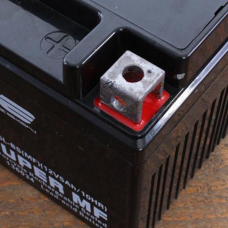 Edge Super MF Accu YTX5L-BS (MF) 12V 5Ah - Gel (11 x 7 x 8,5 cm)