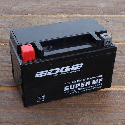 Edge Accu YTX7A-BS (MF) 12V 7Ah (15,1 x 8,7 x 9,4 cm)