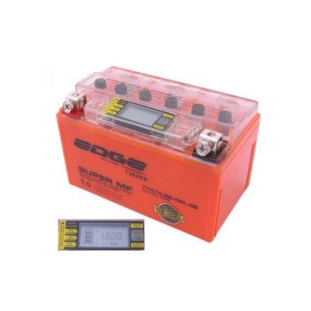 Edge Super MF Accu YTX7A-BS Intelligent-Gel (iGel) (15,1 x 8,7 x 9,4 cm)