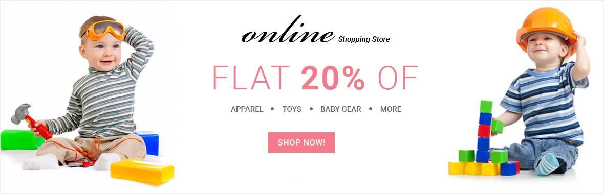 Flat 20% off