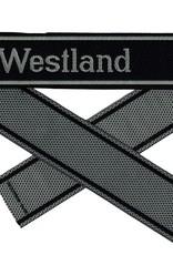 WWII Elite Ärmelband ''Westland'' gewebt WH Cuff title