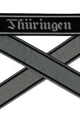 WWII Elite Ärmelband ''Thüringen'' gewebt WH Cuff title