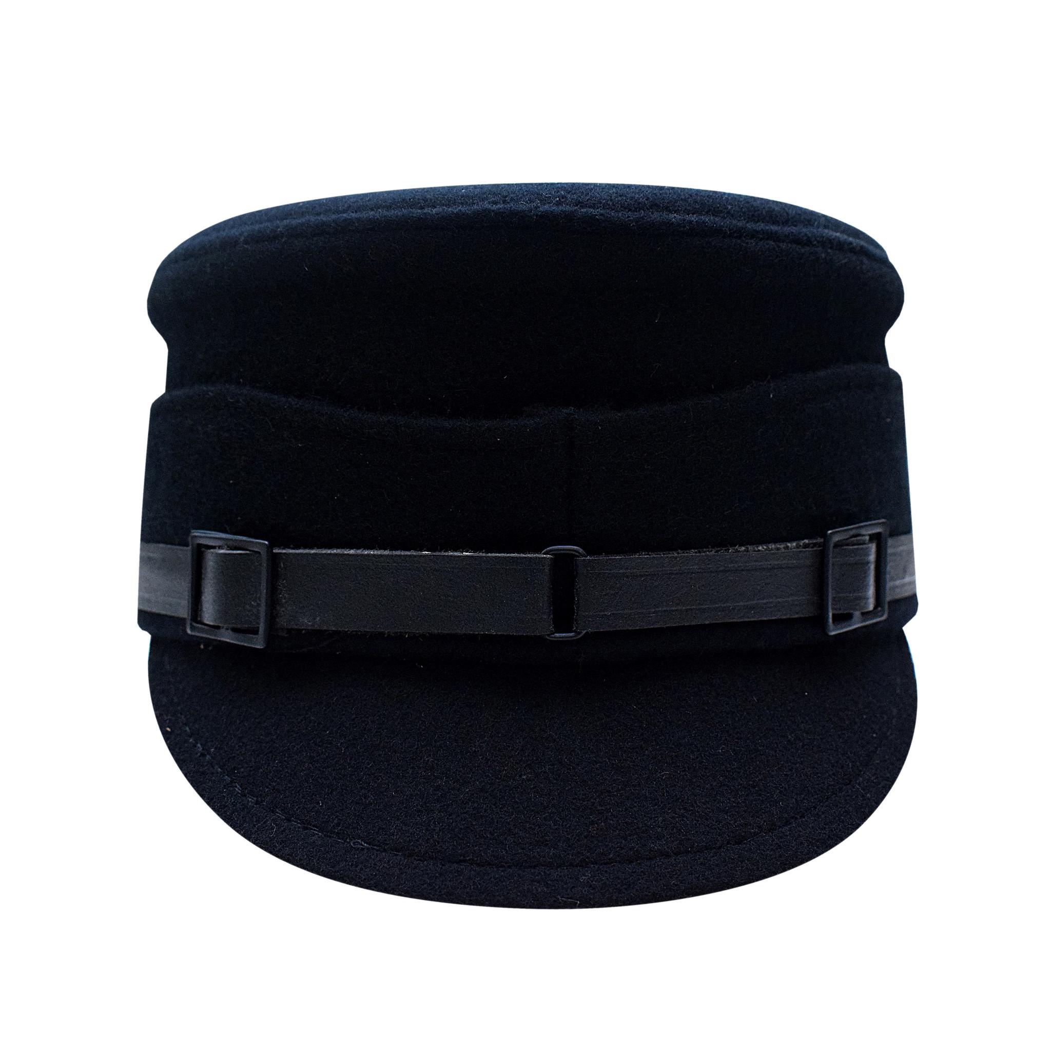 Schaftmütze M32 schwarz Allgemeine Truppe Schirmmütze