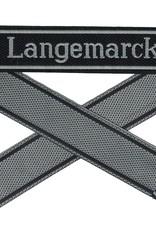 WWII Elite Ärmelband ''Langemarck'' gewebt WH Cuff title