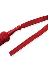 Vereinsbedarf Bhutta rot Portepee mit rot Tresse (grosse Ausführung)