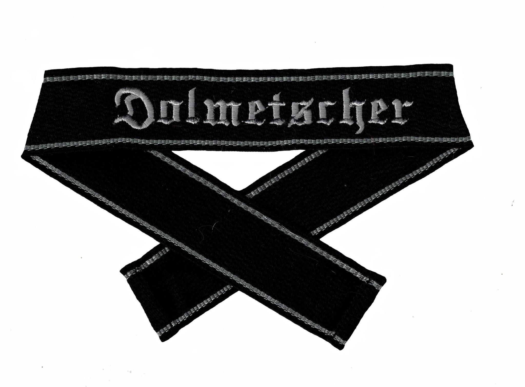 WWII Elite Ärmelband ''Dolmetscher'' gewebt WH Cuff title