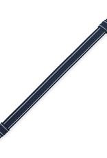 BW Polizei Schirmmützen Riemen blau mit silber ziehbar Mützenriemen Mützenband