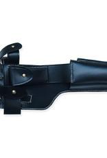 WW2 Mauser C96 schwarz Holster Anschlagschaft WH WWI Rindleder Pistolentasche