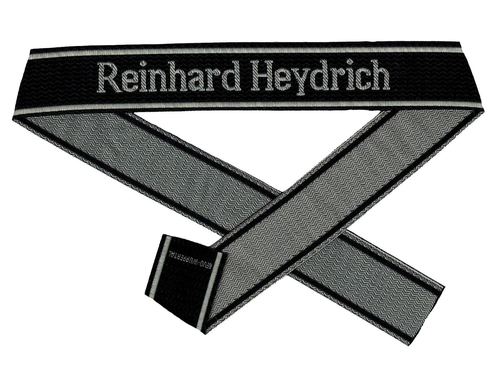 WWII Elite Ärmelband ''Reinhard Heydrich'' gewebt WH Cuff title