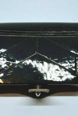 Vereinsbedarf Bhutta Kartuschenkasten, Lacklederdeckel schwarz Rindleder - 100x60x20 mm