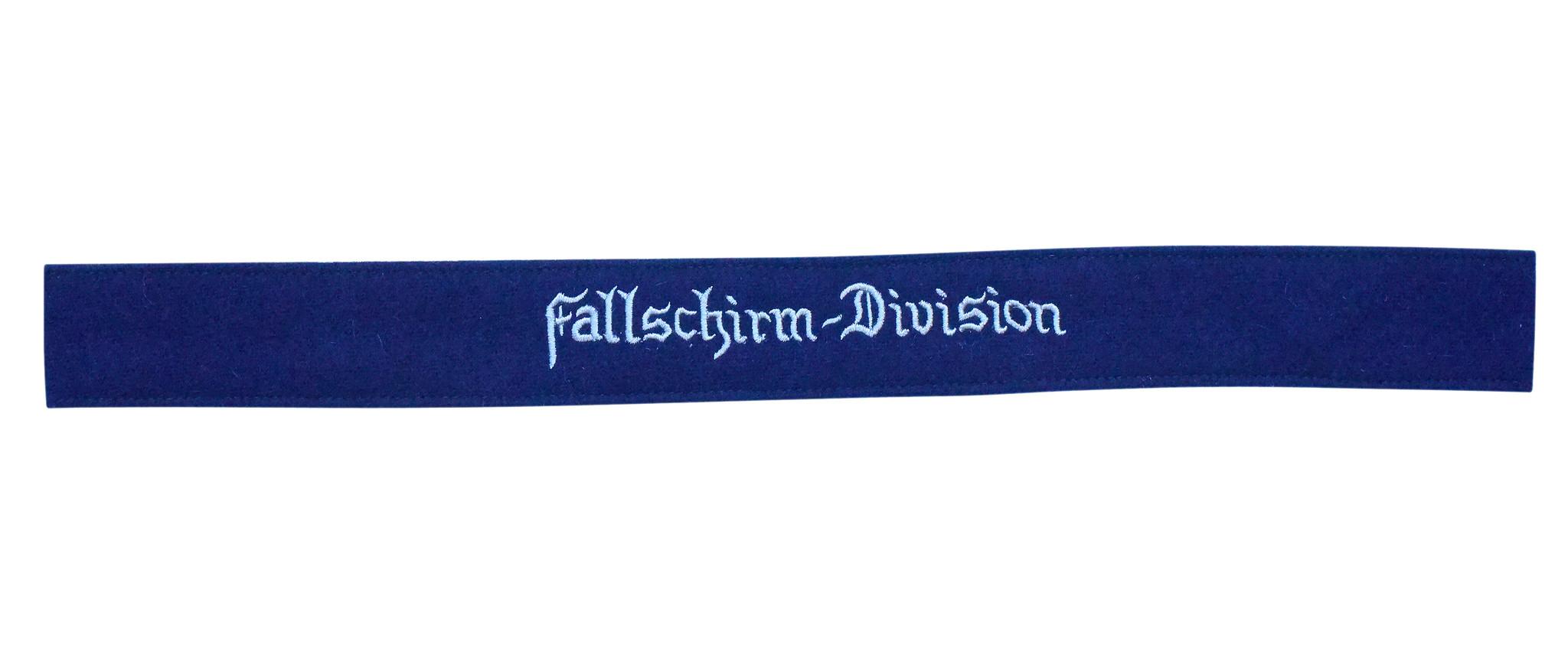 """WH LW Ärmelband """"Fallschirm-Division"""", gestickt"""