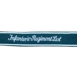 "Wehrmacht Heer Ärmelband ""Infanterie-Regiment List"" für Mannschaften"