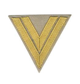 """WH DAK Luftwaffe Rangabzeichen """"Obergefreiter"""" Winkel"""