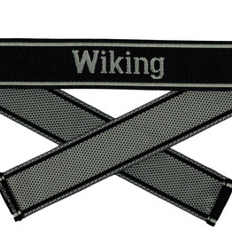 WWII Elite Ärmelband ''Wiking'' gewebt WH Bevo Cuff title