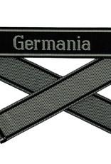 WWII Elite Ärmelband ''Germania'' gewebt WH Cuff title BEVO