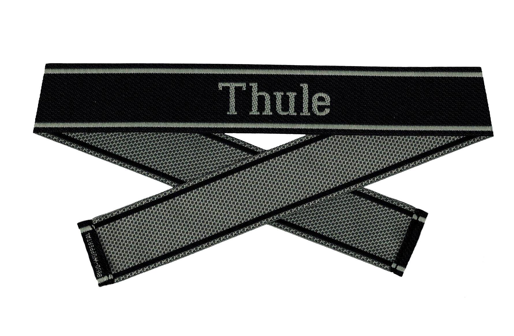 WWII Elite Ärmelband ''Thule'' gewebt WH Cuff title BEVO