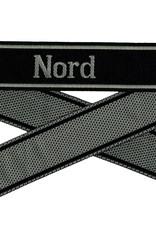 WWII Elite Ärmelband ''Nord'' gewebt WH Cuff title BEVO