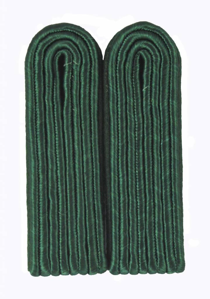 4-streifige Schulterstücke - grün