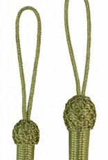 gold Eichel mit handüberketteltem Kopf