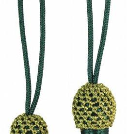 grüne Eichel mit goldenem Kopf
