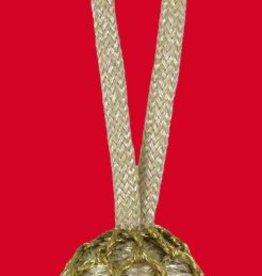 silberne Eichel mit goldenem Kopf
