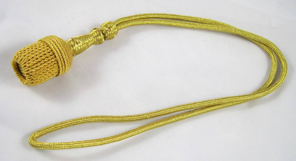 WWII Kriegsmarine goldenes Offizier Portepee Dagger Knot